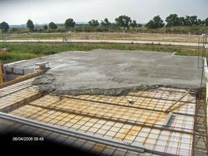 4.6. betonovanie stropu...