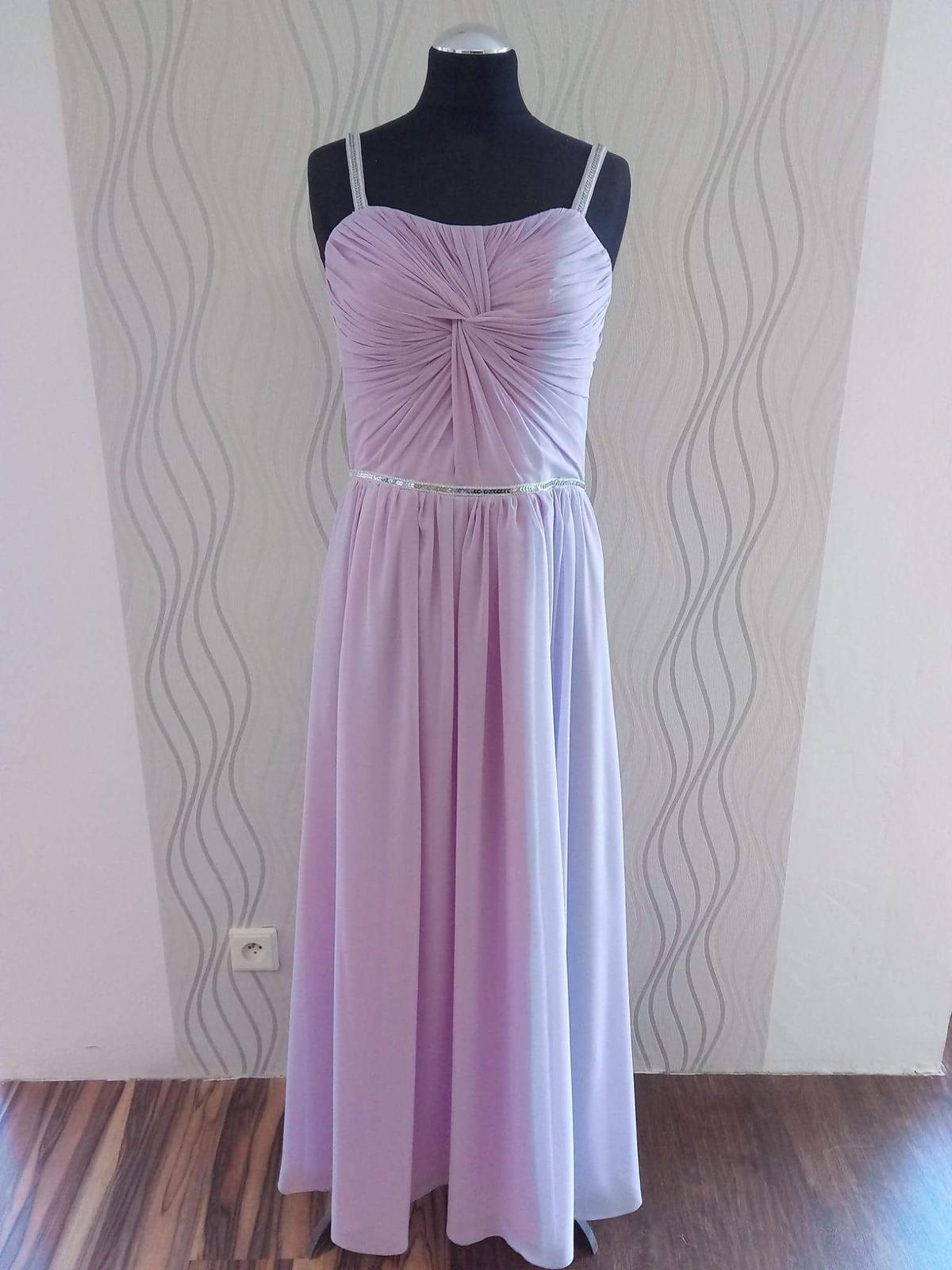 Lila šaty - Obrázek č. 1