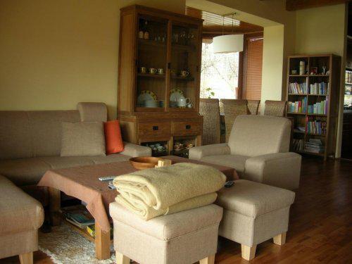 Náš dům - Obývák s jídelnou