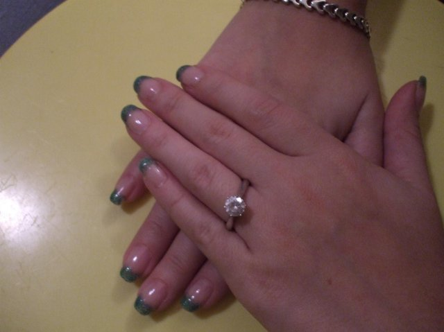 Zásnubný prsteň a môj nastavajúci - Obrázok č. 2
