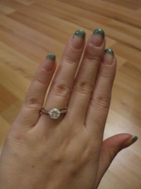 Zásnubný prsteň a môj nastavajúci - Obrázok č. 3