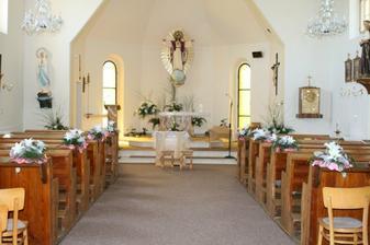 Takhle krásně jsme měli nazdobený kostel