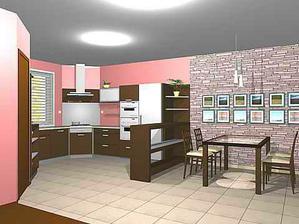 návrh našej kuchyne