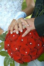 Kytice a naše ruce :-)