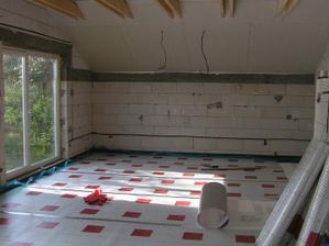 hliníková fólia pod trubky na podlahové kúrenie