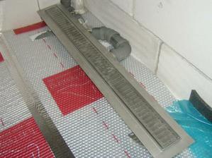 sprchový žľab ešte podlahovka chýba