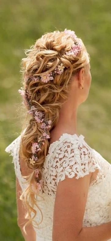 Kvetovy pletenec do vlasov - Obrázok č. 2
