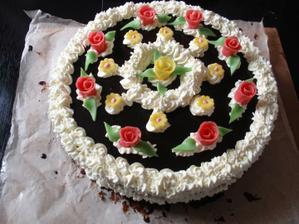 tak a další krabičkovej dort
