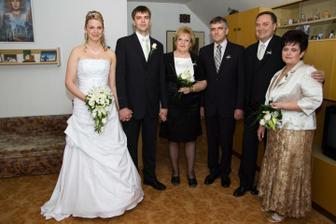 s rodiči po požehnání