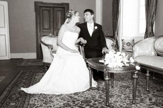 manželé na zámku
