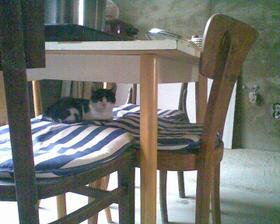 pod stolem je největší tma....