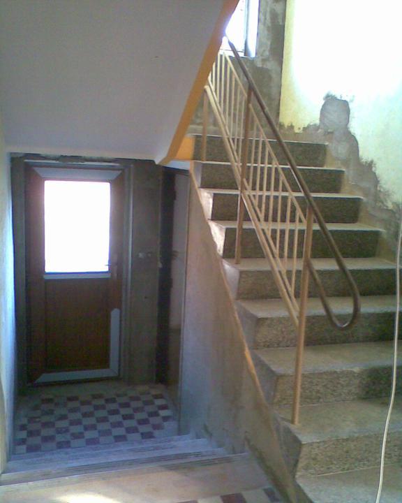 Nové dveře na dvůr