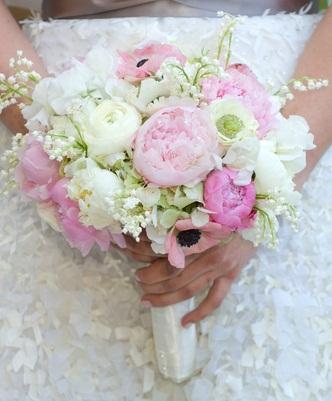 Kytice, co se mi líbí - líbí se mi kombinace kytek, ale bez růžové barvy