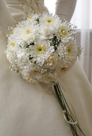 Chryzantemy ako svadobna kytica - Obrázok č. 10