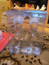 ... naše svadobné poháre ...