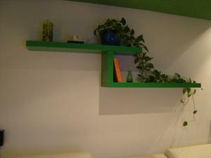 Policky Ikea :) obyvka