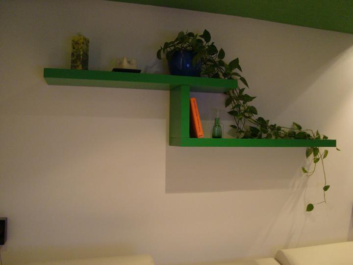 Rekonstrukce pracovna, loznice, obyvka, hala, detsky - Policky Ikea :) obyvka