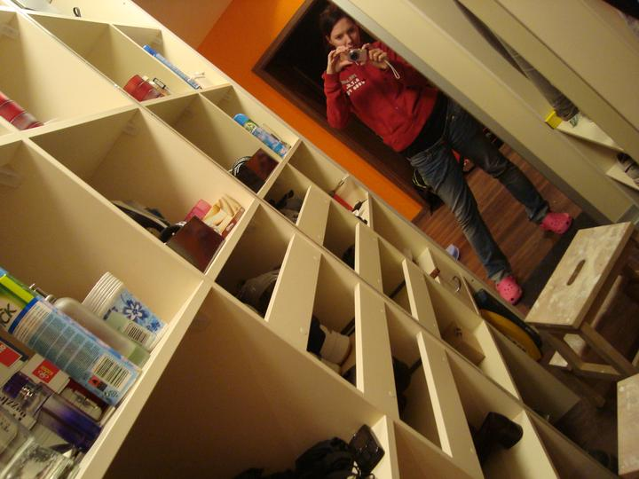 Rekonstrukce pracovna, loznice, obyvka, hala, detsky - a na rozsíreni prostoru zrkadelko:) juuuuj, jsme radi