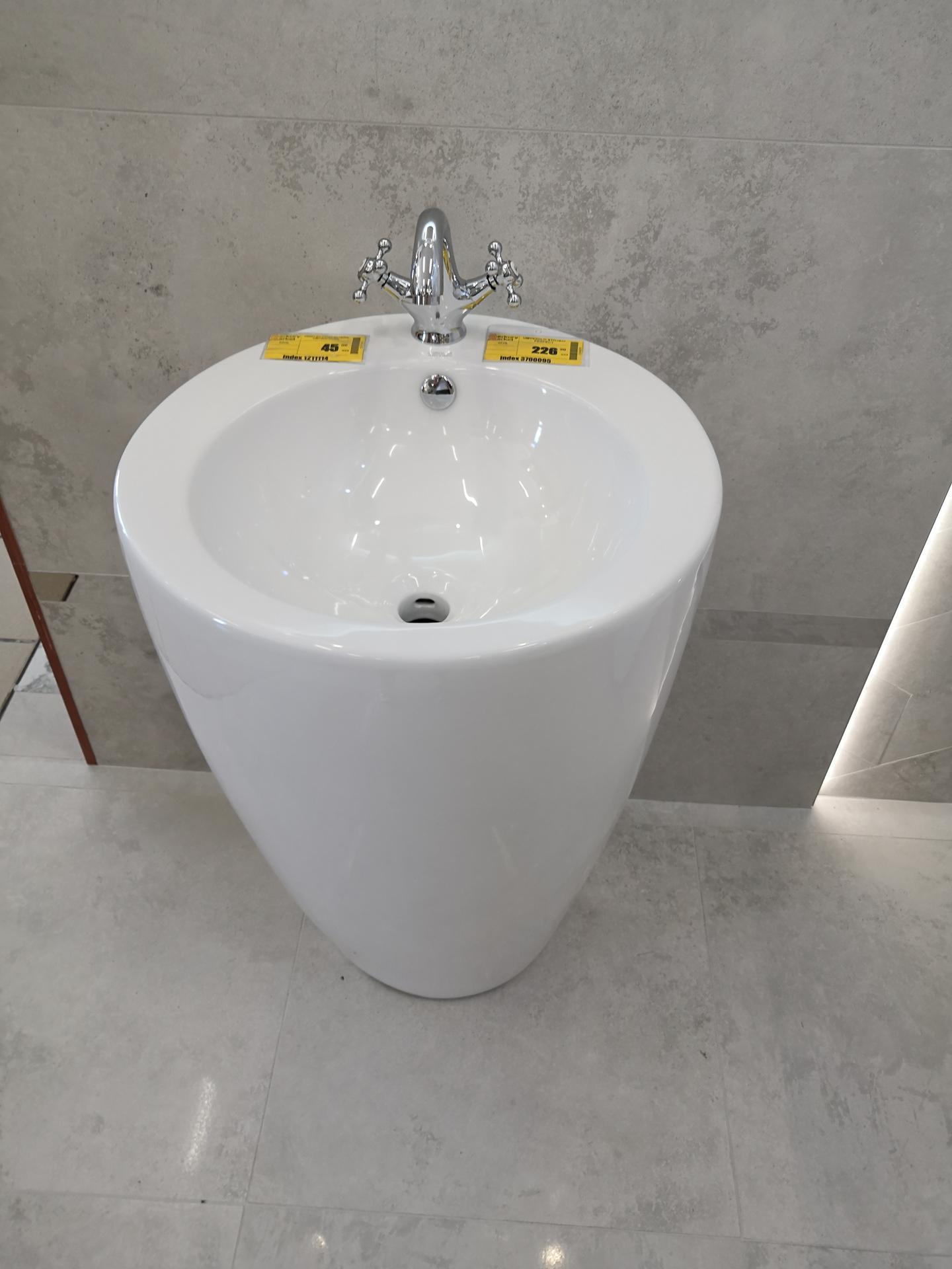 Prosím vás máte niekto takéto voľnostojace umývadlo v kúpeľni? Výhody/nevýhody? Ďakujem :) - Obrázok č. 1