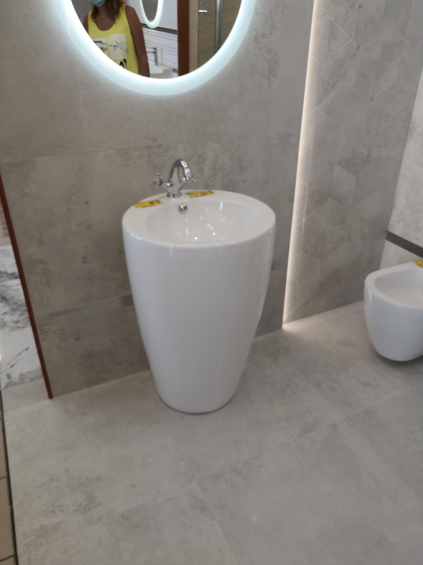 Prosím vás máte niekto takéto voľnostojace umývadlo v kúpeľni? Výhody/nevýhody? Ďakujem :) - Obrázok č. 2