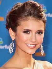 Nina Dobrev, moja oblubena herecka, takyto make up by som chcela:)