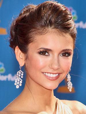 Čo sa mi páči:)) - Nina Dobrev, moja oblubena herecka, takyto make up by som chcela:)
