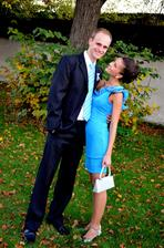a na ďalšej svadbičke :) už ako manželia Štefkovci :)