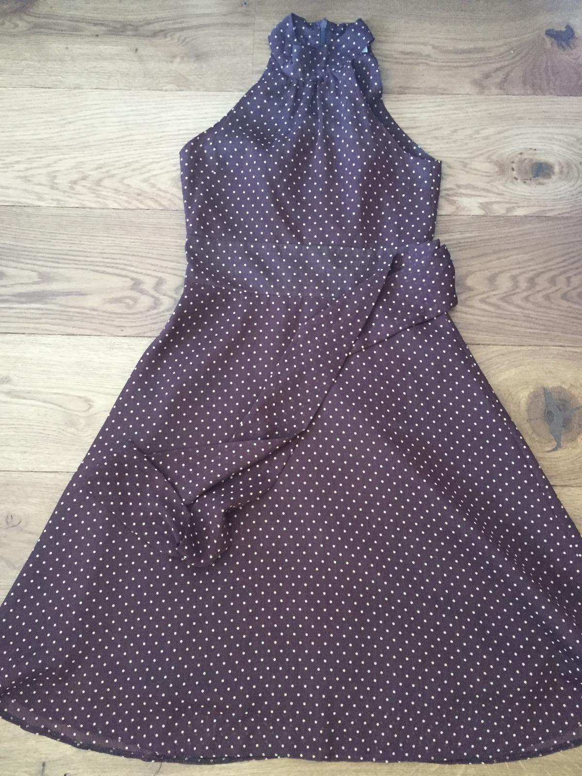 Čokoládové šaty Orsay S - Obrázok č. 1