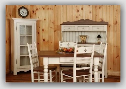 Drevo a biela v kuchyni - Obrázok č. 91
