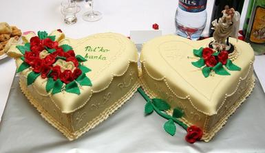 torta od rodičov...