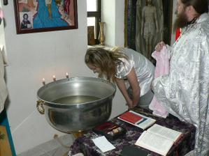 Můj křest v chrámě 1