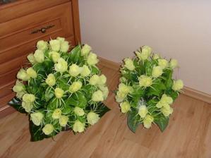 Květiny do kostela