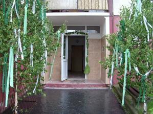 Hl.vchod do baraku