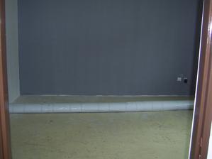A konečně prázdný a može sa dat koberec...