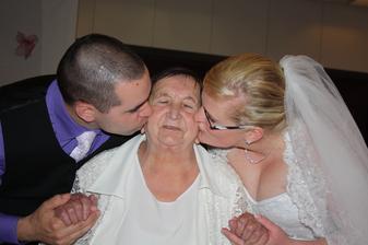 Máme na babičku pěknů vzpomínku....