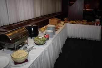 Všechno jídlo bylo vynikající...