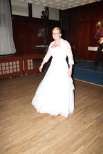 Ziggy řikál, že když netančí nevěsta tak netačí nikdo...tak sem mosela tančit pořád :o)