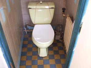 Vyhrabala jsem fotku WCka při koupi baráčku....