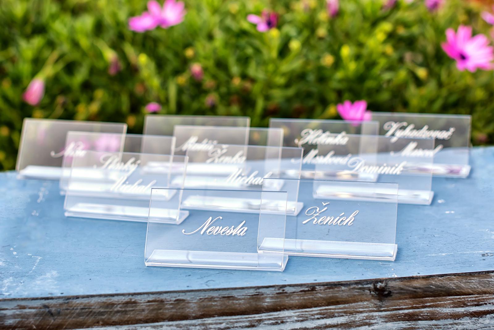 Transparentné svadobné tlačoviny - Obrázok č. 24