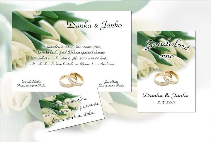 Svadobné sady - Obrázok č. 1
