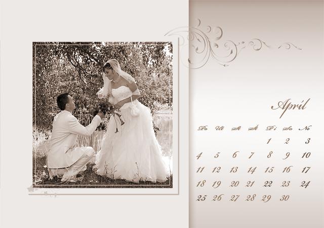 Svadobný kalendár. - Obrázok č. 4