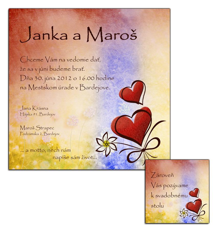 Svadobné oznámenia - Obrázok č. 4