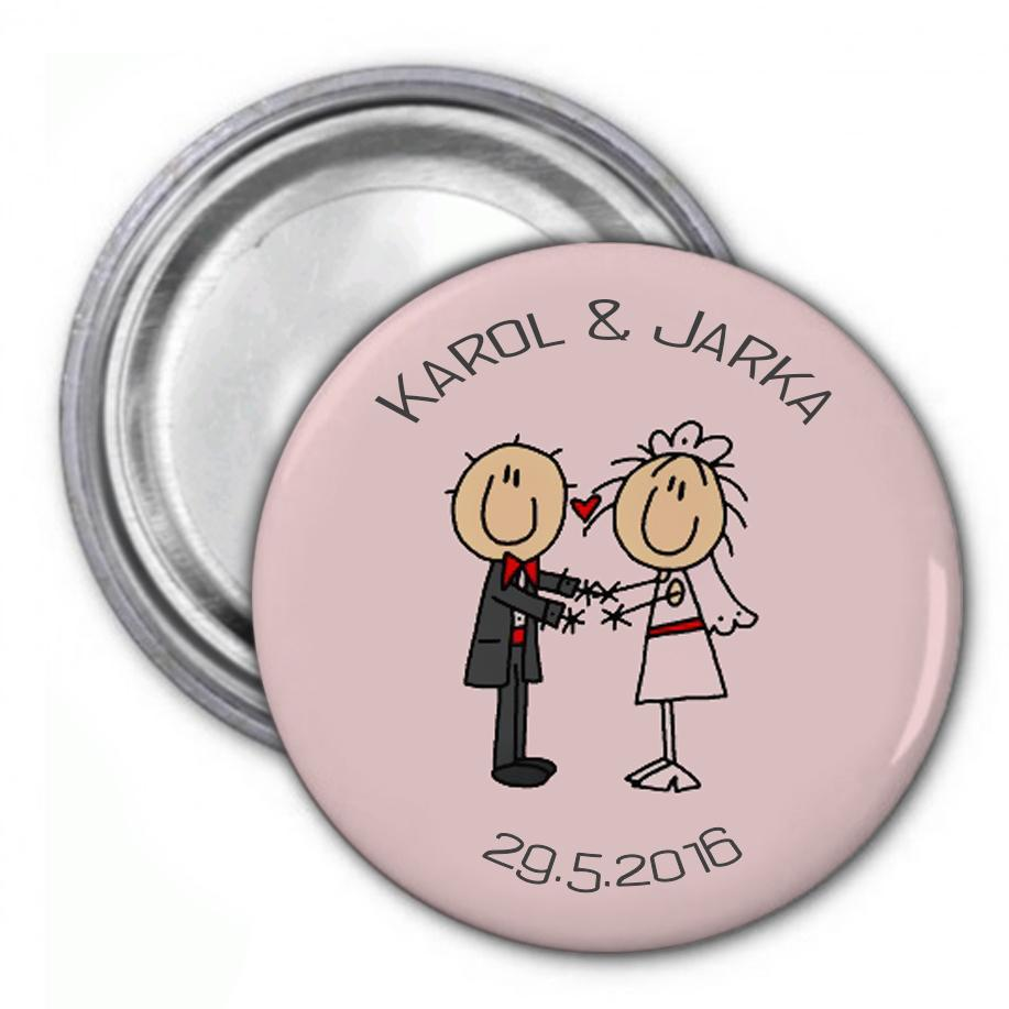 Svadobné buttony - Obrázok č. 2