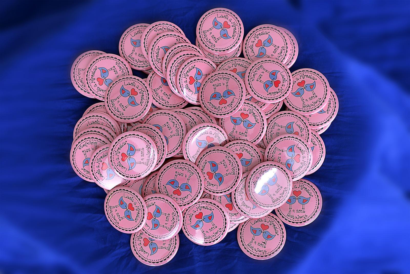 Svadobné buttony - Obrázok č. 3