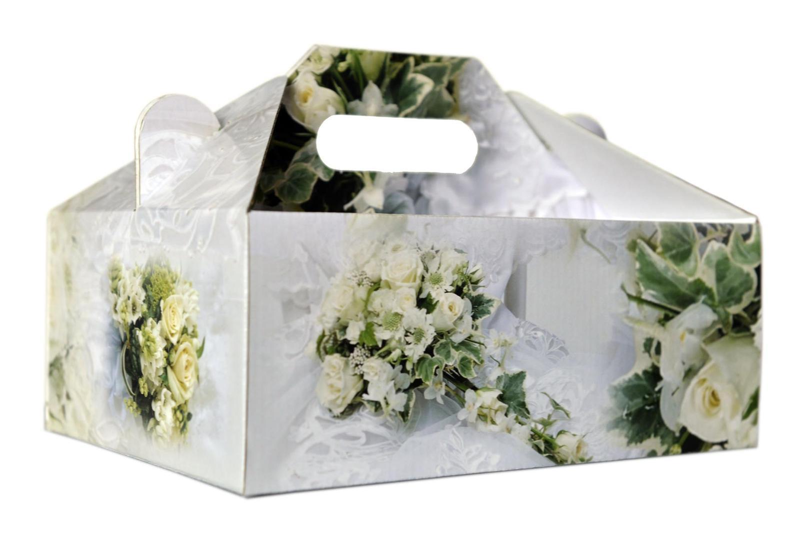 Krabica na zákusky veľká - Obrázok č. 1
