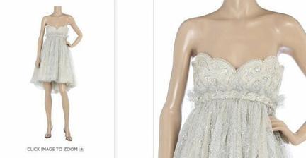 Tak tyhle božské šaty mít :-)