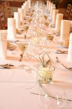 Úžasná svatební tabule
