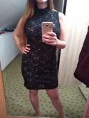 Společenské mini šaty, 42