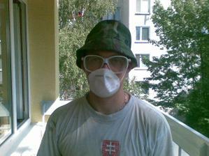 júl 2009 a zaciname prerabat: Priprava na rezanie panelu :-)