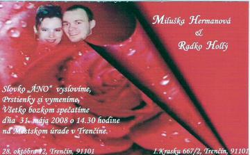 svadba by mala byt v motive cervenych ruzi, tak preto tie ruze...